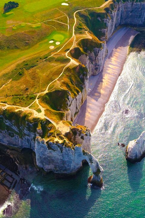 Paragliding Normandy